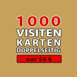 1000 Visitenkarten