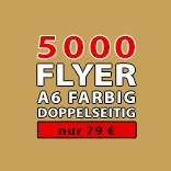 Angebot Flyer 5000 Stück A6 Doppelseitig